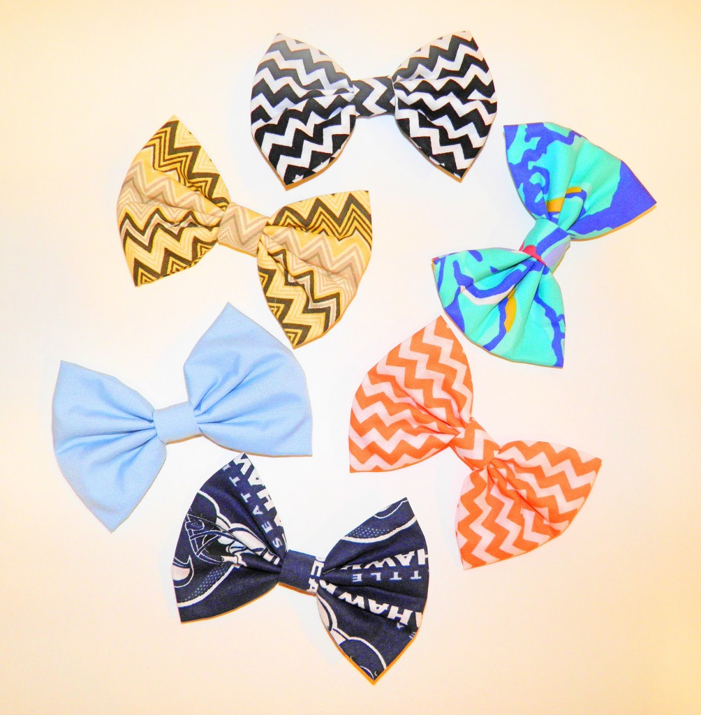 Paulette sent me way more bows than I asked for. She's amazing!