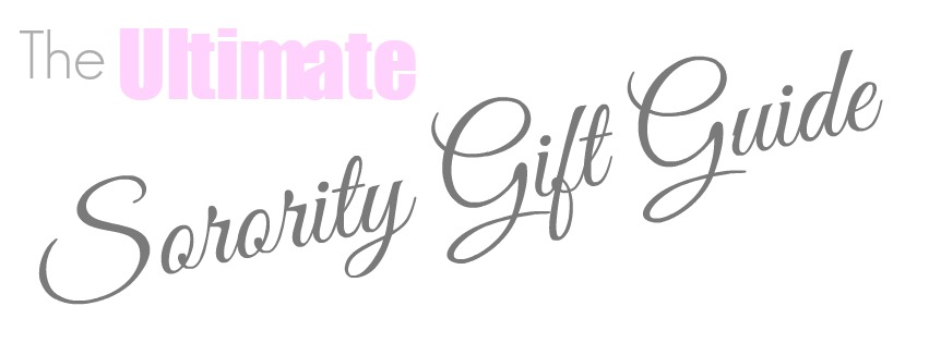 sorority gift guide