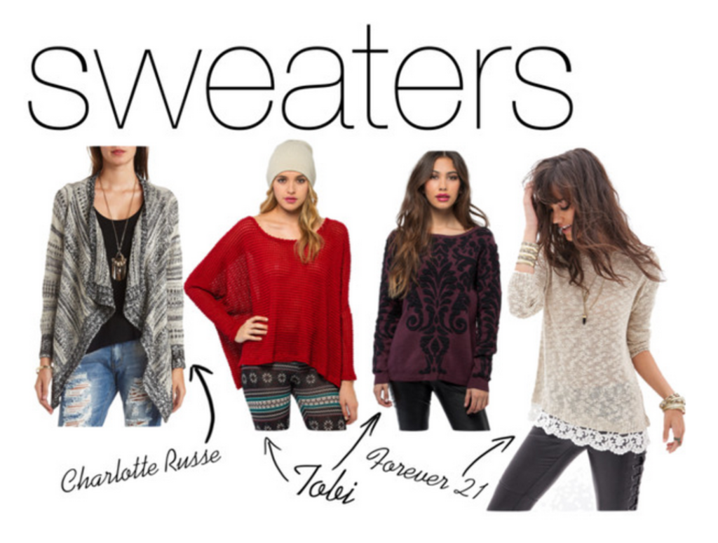sweaters
