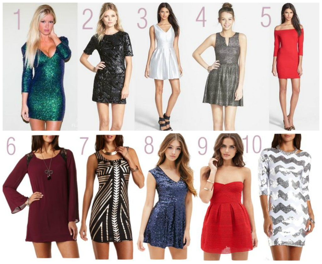 Dazzling Holiday Dresses