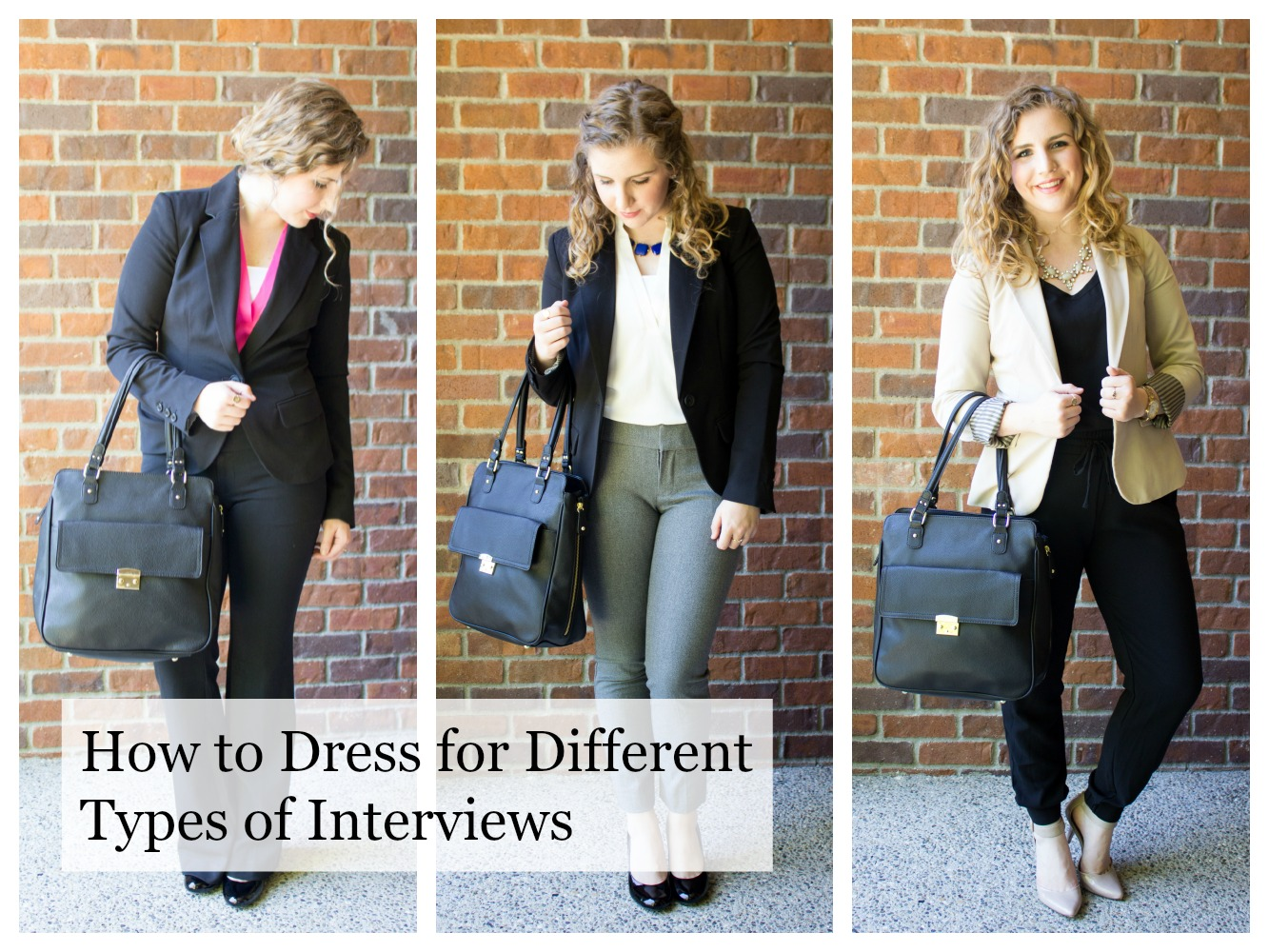 Tips on how to dress for different types of interviews