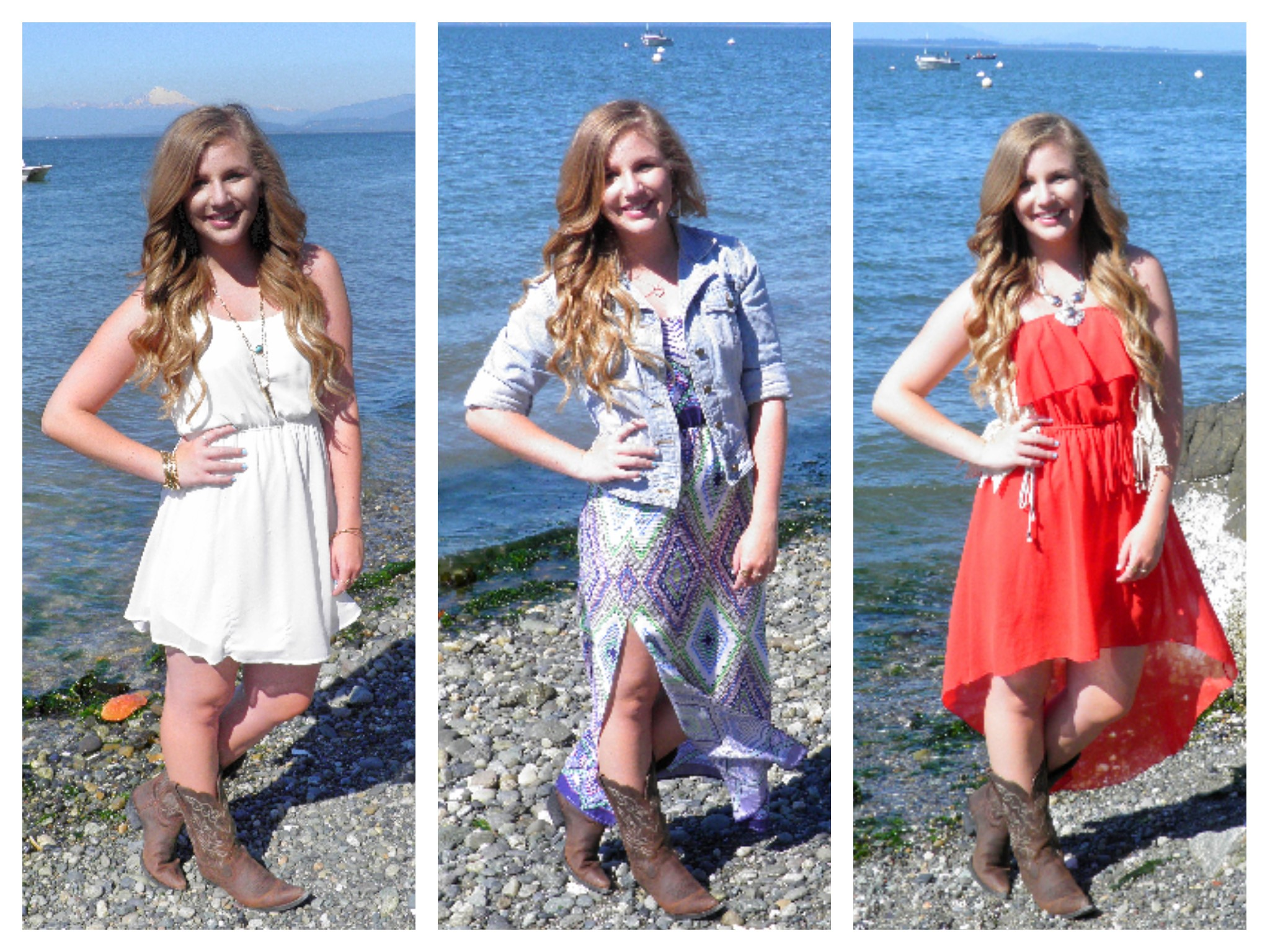 Popular How to Wear Cowboy Boots with Dresses | Seattle Stylista PY45